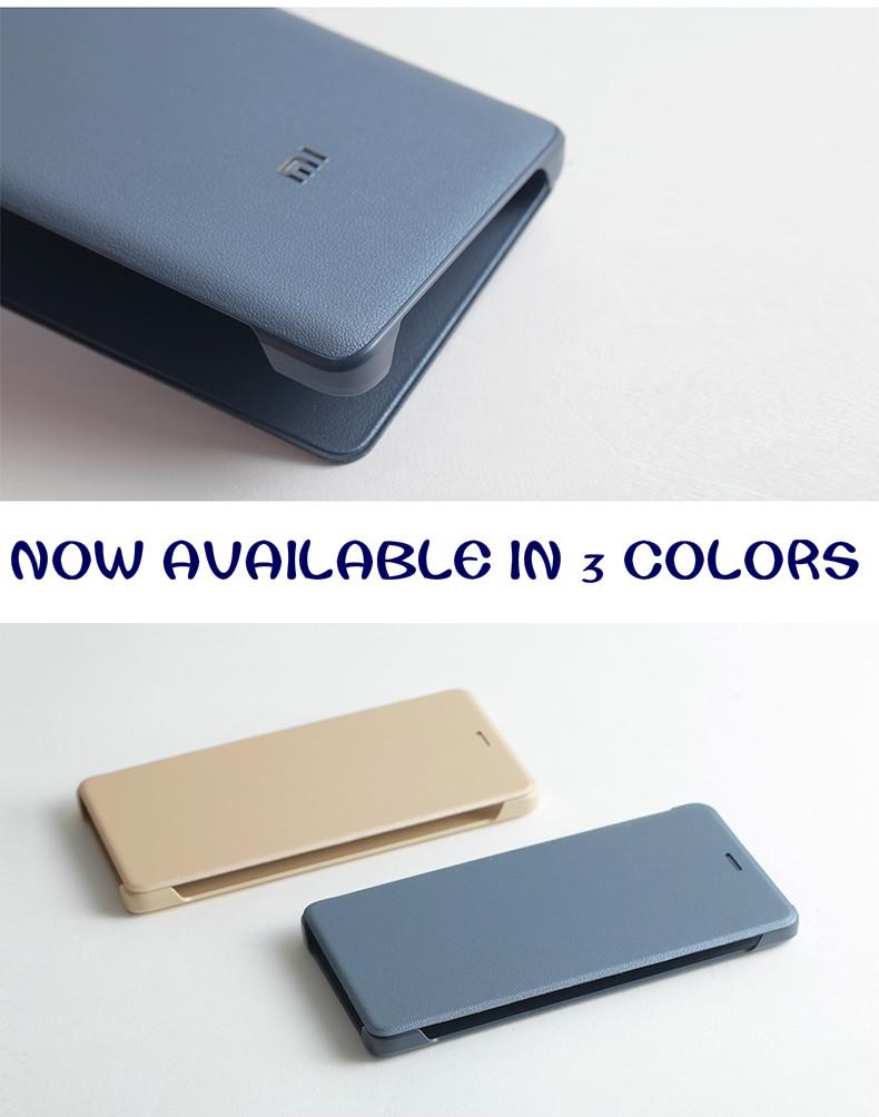 XiaoMi RedMi 4 Prime Flip Case (3 Colors) Original