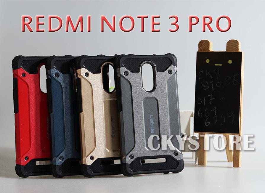 best service 6ab4b 95e4c XIAOMI REDMI 4X NOTE 4 4X 3 PRO SPIGEN TOUGH ARMOR CUSHION Case