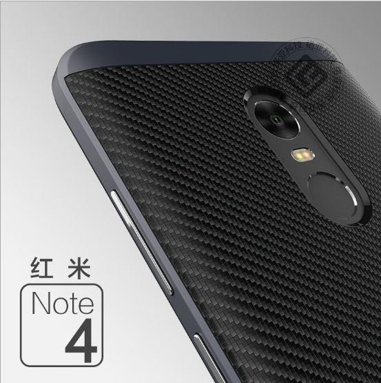 new products 43a94 15afe XIAOMI REDMI 4X Note 4 & REDMI Note 4X SPIGEN CARBON LINE Case