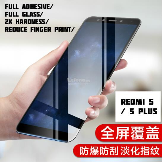 Xiaomi Redmi 5 /5Plus  Full Frame Tempered Glass Screen Protector