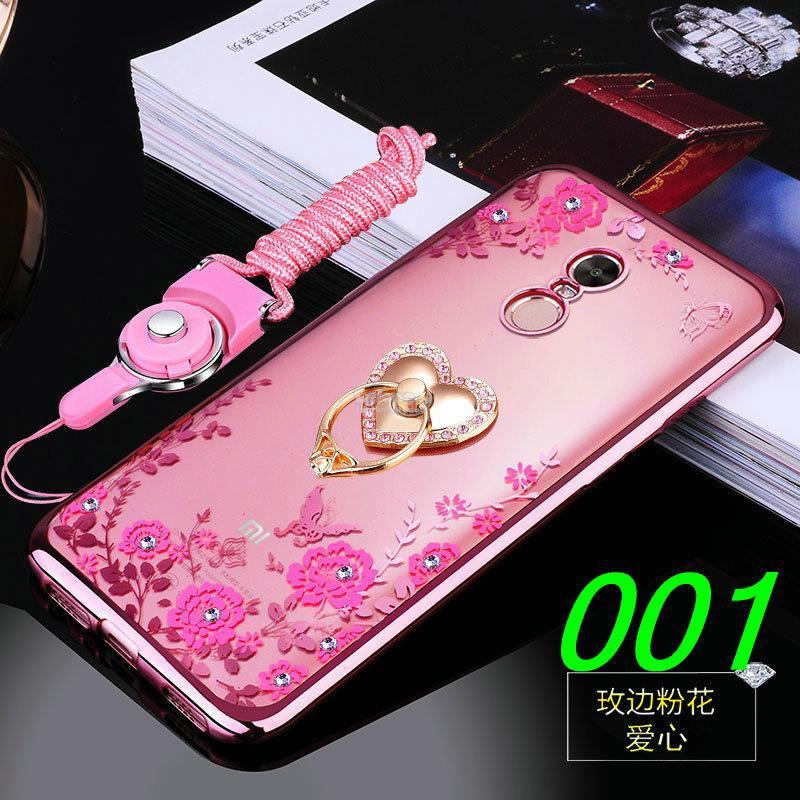 best authentic 49042 dc681 Xiaomi Redmi 5 / Plus Diamond TPU Back Case Cover Casing + Ring Holder