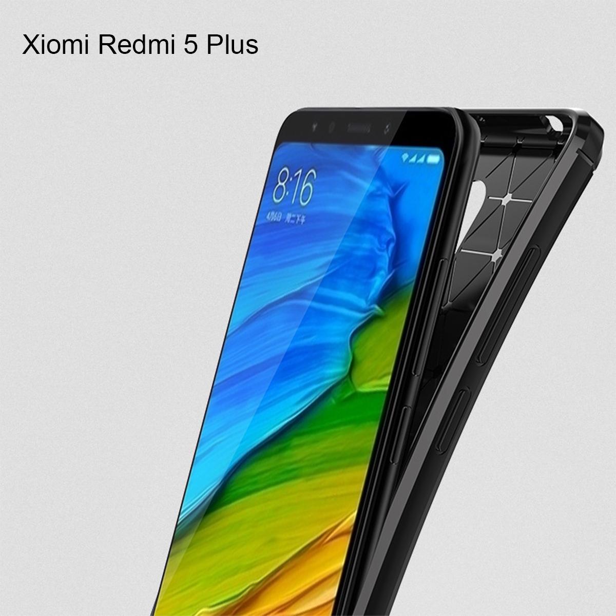 Xiaomi Redmi 5 Plus Redmi S2 Redmi Note 5 Brushed TPU Soft Case Cover Casing