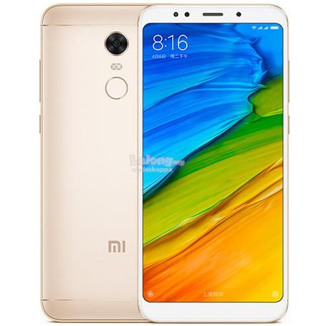 "Xiaomi Redmi 5 Plus Snapdragon 625 Big 5.99"" LCD [32GB+3GB / 64GB+4GB}"