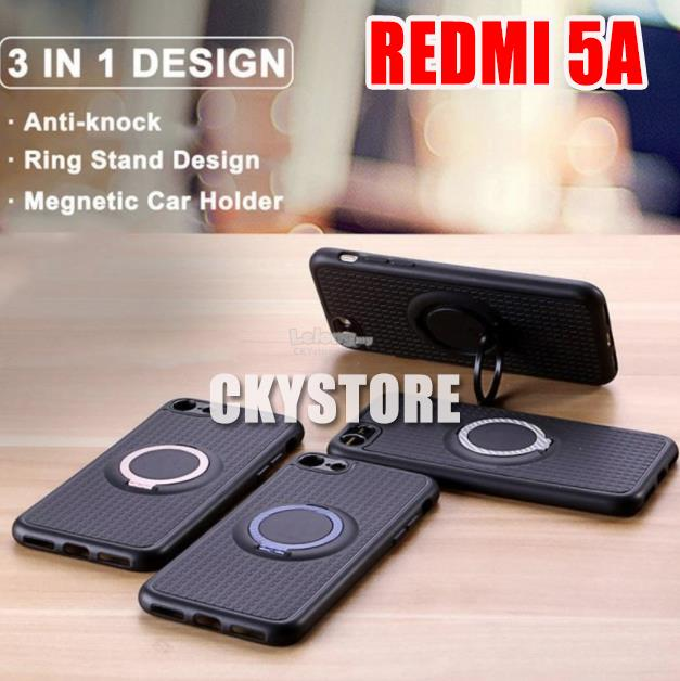 XIAOMI Redmi 5A IFACE Magnetic FINGER Ring Stand Case