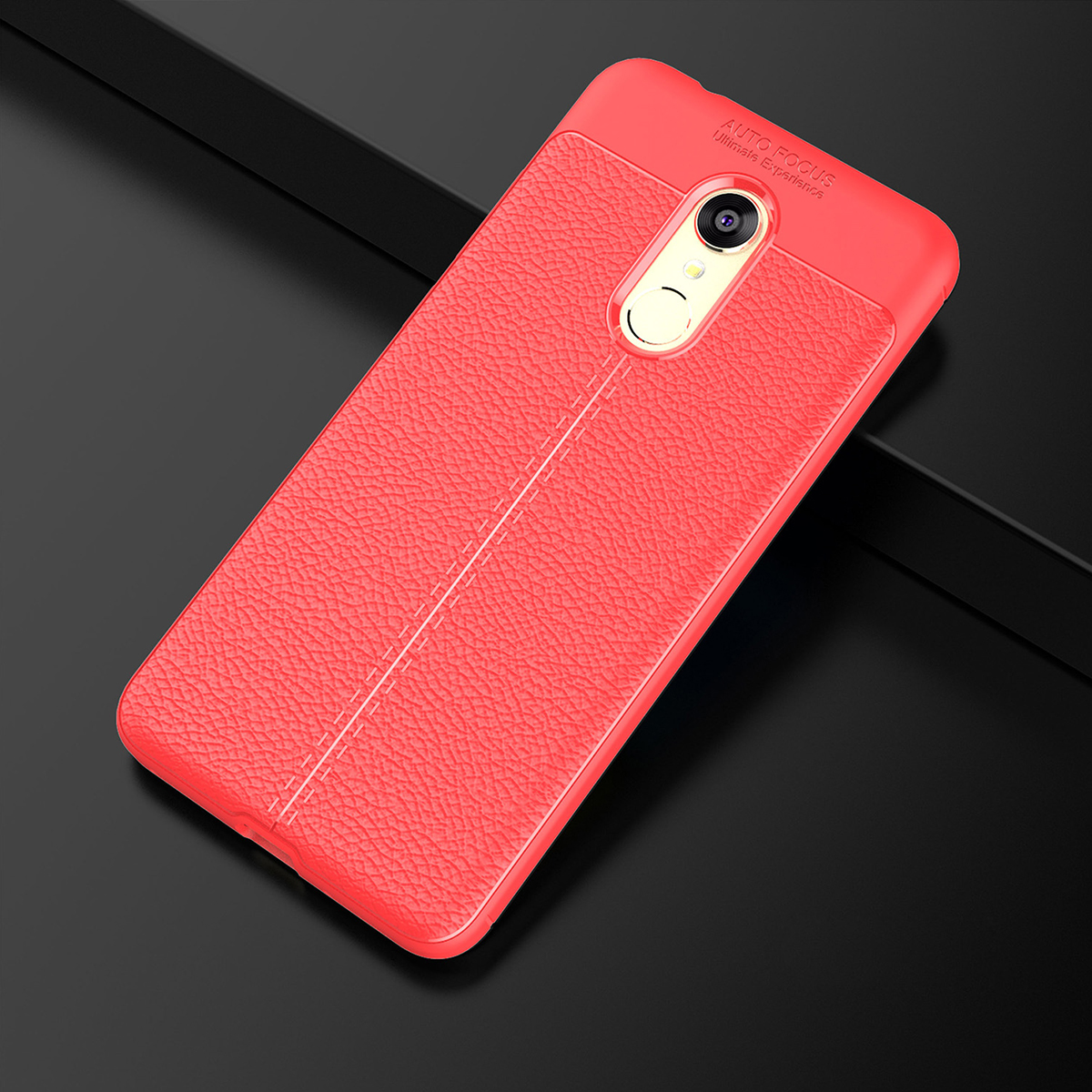 low priced 46cec c7a1f Xiaomi Redmi 5A Redmi 5 Plus Redmi S2 Mi Mix 2S TPU Leather Soft Case Cover