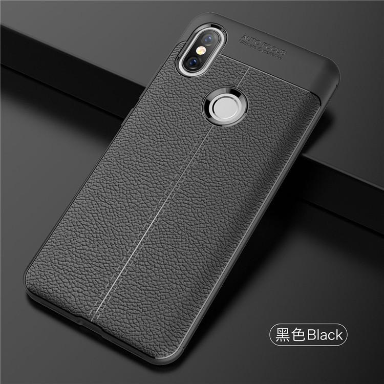 low priced f621f 3de7a Xiaomi Redmi 5A Redmi 5 Plus Redmi S2 Mi Mix 2S TPU Leather Soft Case Cover