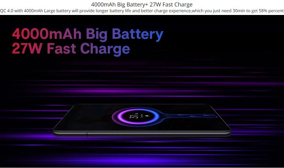 Image result for k20 pro battery life