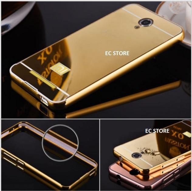 reputable site dea44 9a0b2 Xiaomi Redmi Note 2 3 Ultra Thin Aluminium Metal Bumper Mirror Case