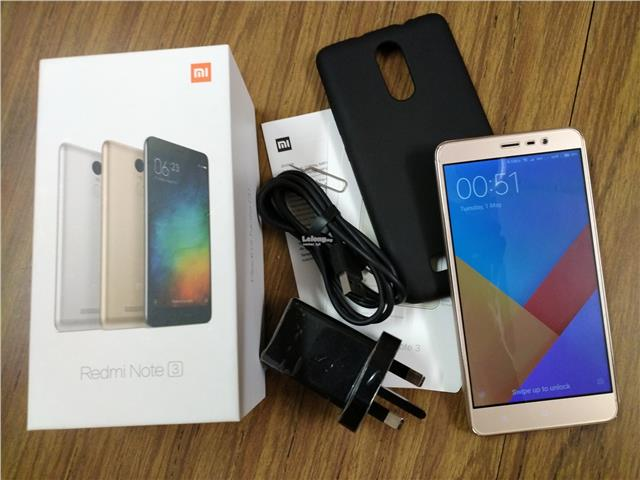 Xiaomi Redmi Note 3 3GB/32GB SD650 M'sia Set Boxed
