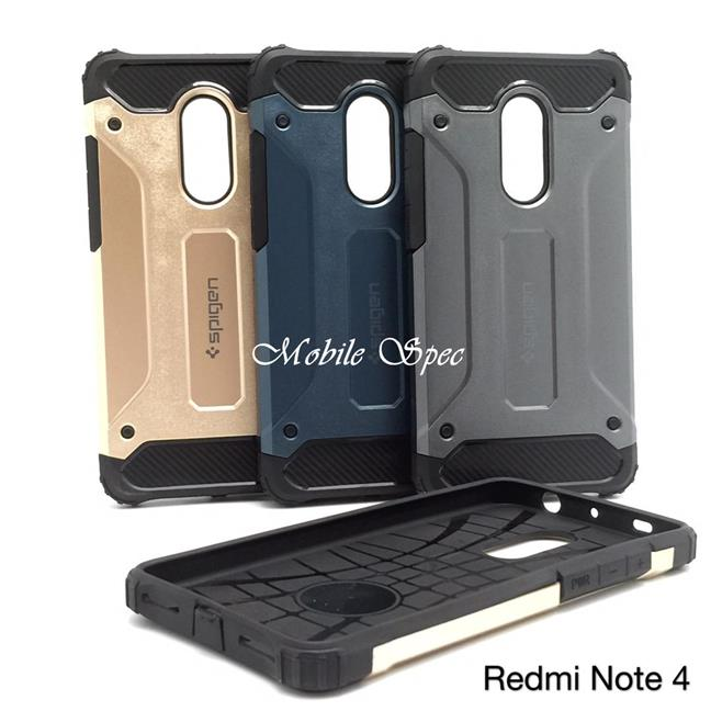 competitive price b252c ba894 XIAOMI REDMI NOTE 3 4 5 5A PRO PRIME SPIGEN TOUGH ARMOR CUSHION CASE