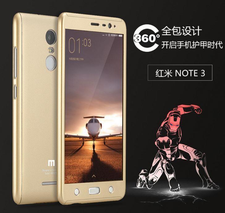 a7b9297791 XIAOMI REDMI Note 3 / Pro Honor 8 GKK 360 FULL Protection Case. ‹ ›
