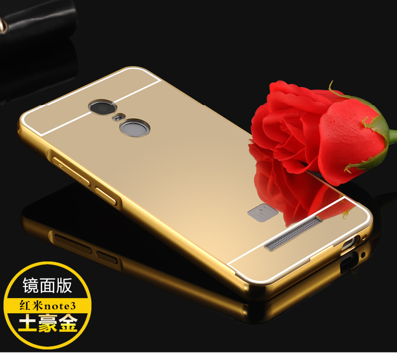 meet c2ad9 cad28 Xiaomi Redmi Note 3 Redmi 3S Pro Mi 5 Mi Max Mirror Cover Case Casing