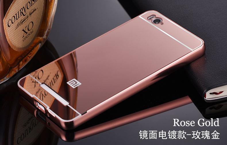 meet 36c61 5ba98 Xiaomi Redmi Note 3 Redmi 3S Pro Mi 5 Mi Max Mirror Cover Case Casing