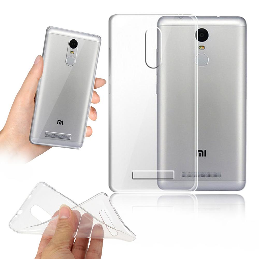 pretty nice 8e399 d73cc Xiaomi Redmi Note 4 Clear Transparent Crystal TPU Silicone Case Cover