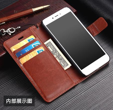 low priced 18211 fdf55 Xiaomi Redmi Note 5 5A Plus Redmi5A Note5a PU Flip Cover Casing Case
