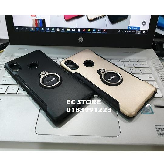 100% authentic c50f0 54293 Xiaomi Redmi Note 5 Mi A2 Lite 6 Pro Motomo Ring Stand Armor Case