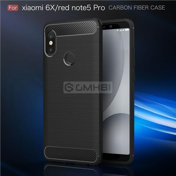 Xiaomi Redmi Note 5 Pro Rugged Tough Slim Armor TPU Bumper Cover Case. ‹ ›