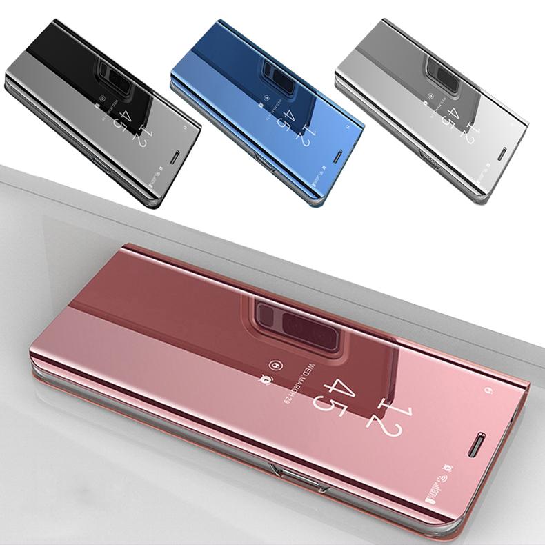 the latest 22ccf 7b697 Xiaomi Redmi Note 5 Redmi Note 5A Prime Mirror Flip Pouch Case Cover H