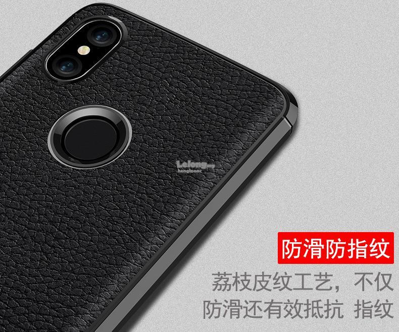 new product 96d67 c1059 Xiaomi Redmi Note 5 Shockproof Anti-Fingerprint Rugged Armor TPU Case