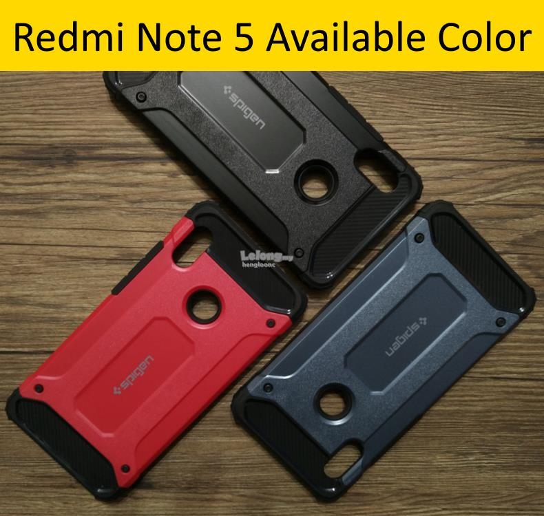 sneakers for cheap 8d087 bd99e Xiaomi Redmi Note 5 Shockproof Hybrid Hard PC + TPU Armor Case