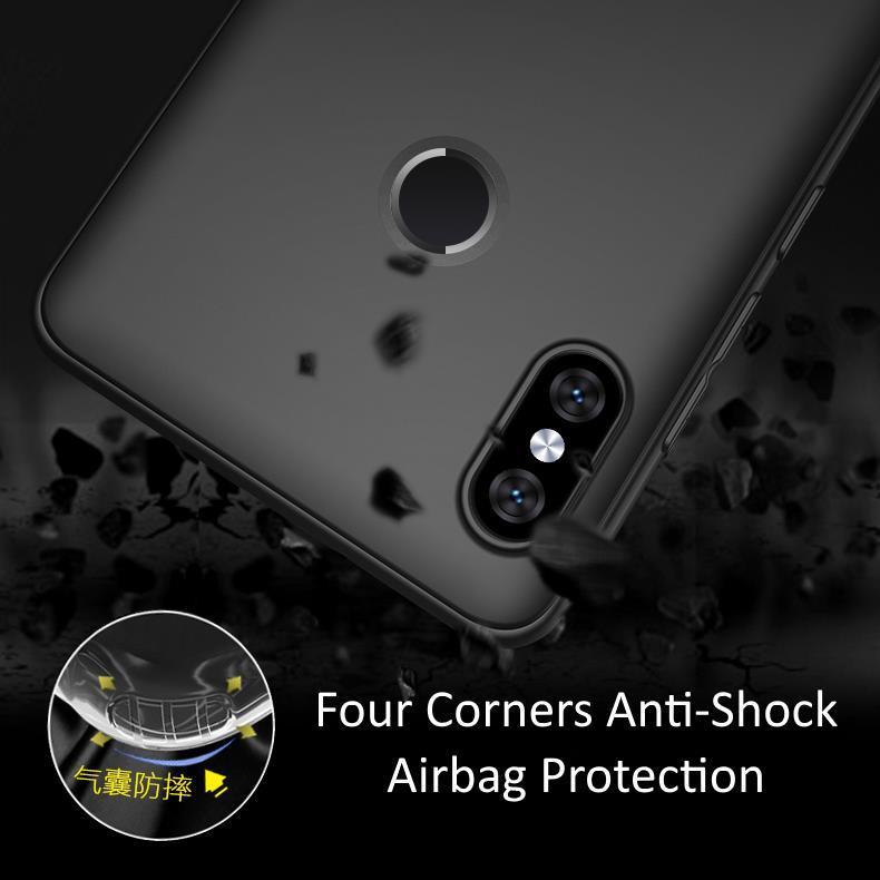 Xiaomi Redmi Note 5 Ultra-Thin Anti-Fingerprint Soft TPU Matte Case