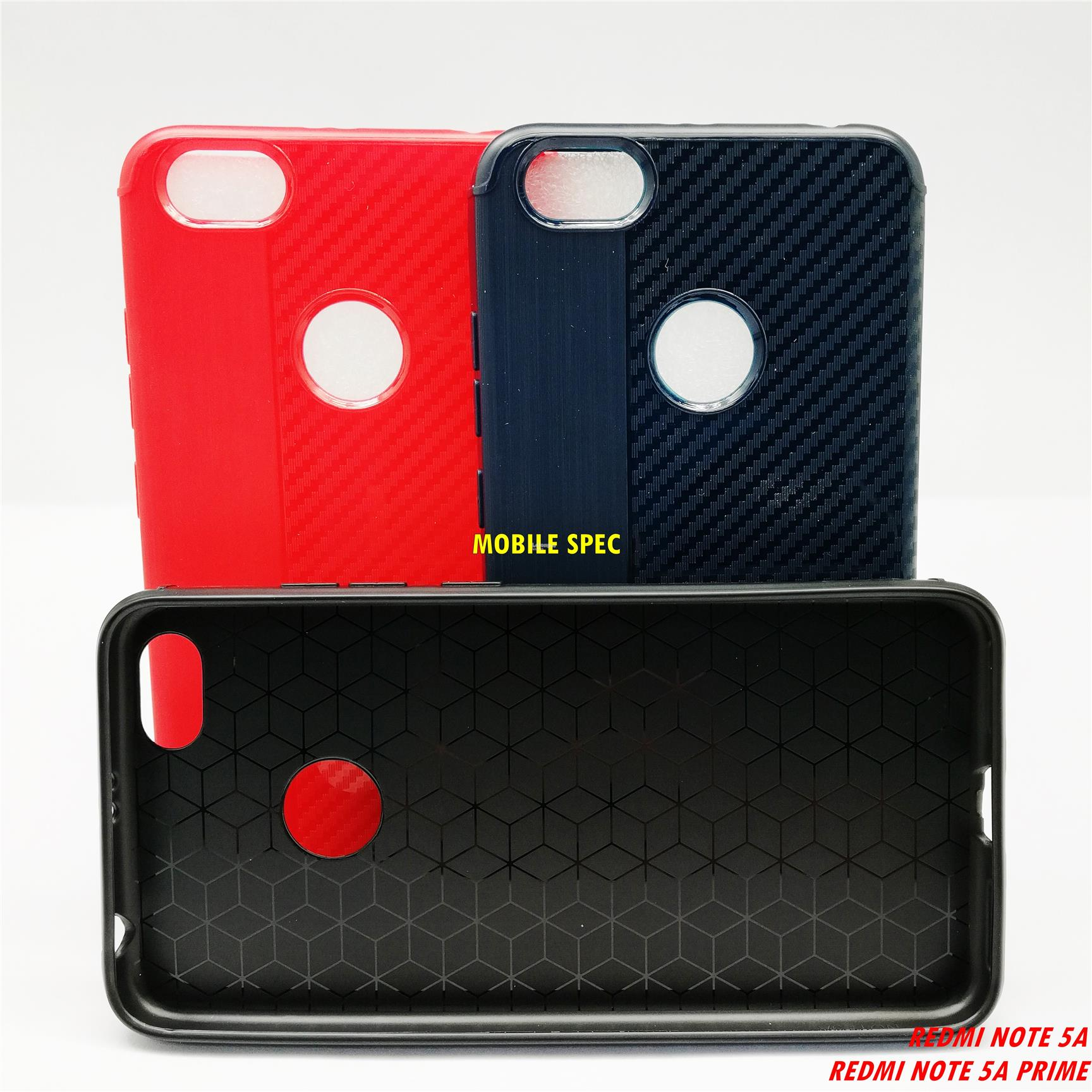 XiaoMi Redmi Note 5A Prime Flexible Silicone Carbon Soft Color Case
