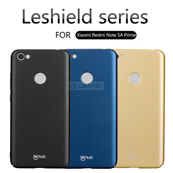 best website 38ae7 3598a Xiaomi Redmi Note 5A Prime Pro Lenuo Frosted Hard Back Cover Case