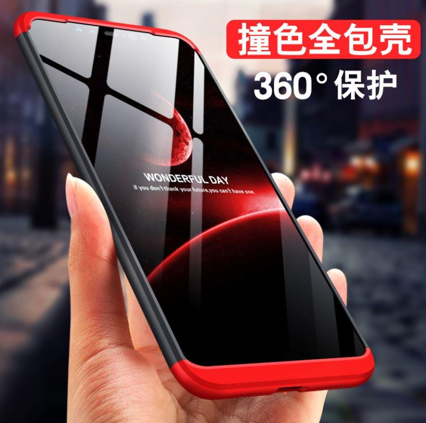 buy popular 3d0d0 ad0d8 XiaoMi Redmi Note 6 Pro GKK 360 Full Protection Case Cover