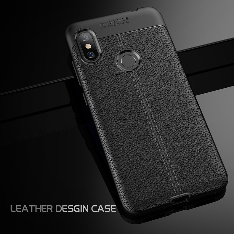 the latest 25f5a 78b4e Xiaomi Redmi Note 6 Pro Mi Max 3 Mi 8 Lite Soft Case Cover TPU Leather