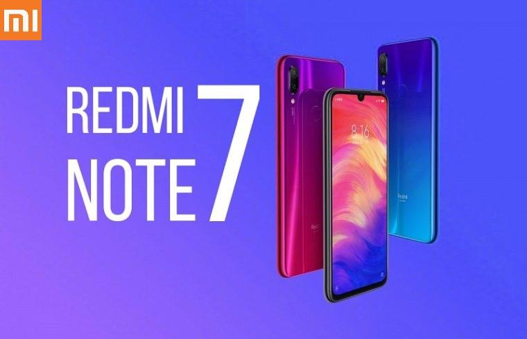 Xiaomi Redmi Note 7 4GB+64GB ROM 48MP Camera / Original Imported New