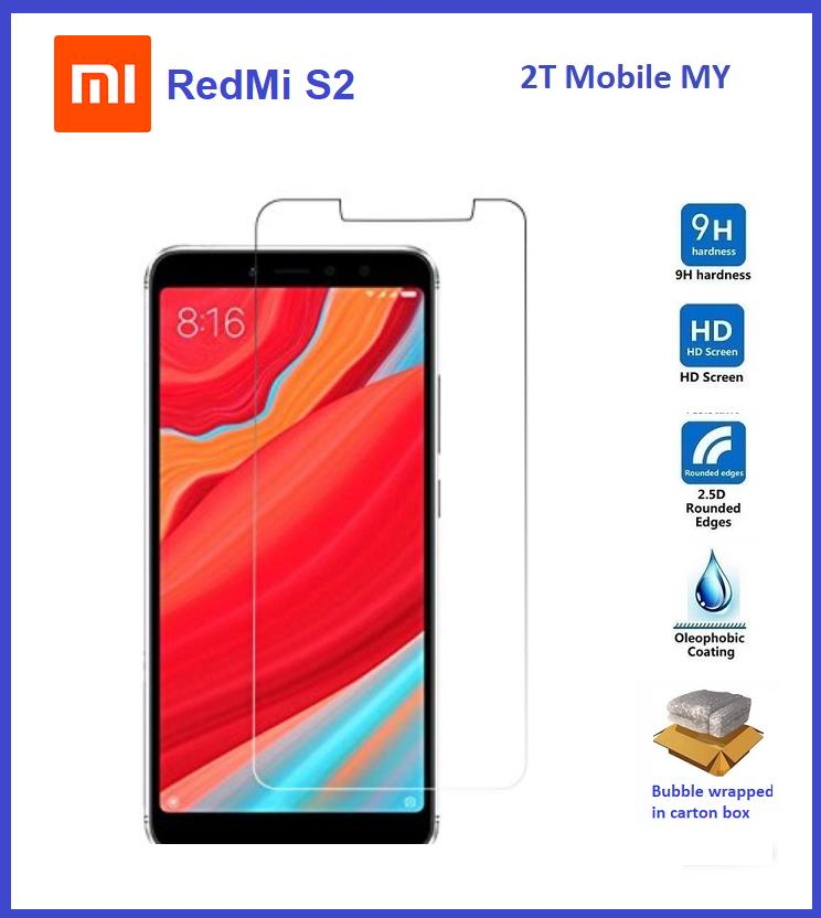XiaoMi RedMi S2 Tempered Glass Screen Protector 2 5D