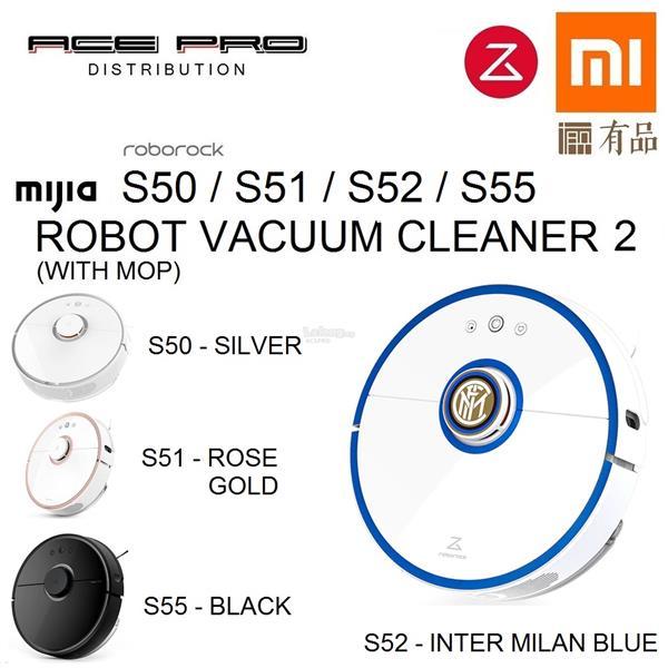XIAOMI Roborock S50 S51 S55 - Mijia Robot Vacuum 2nd Gen Sweep & Mop