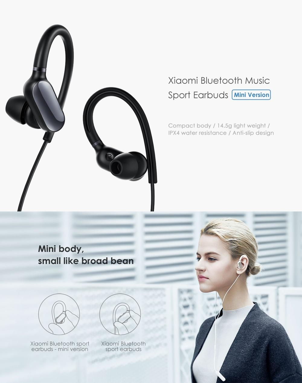 bf0e6e339ec Xiaomi Sports Bluetooth Wireless Mini Ver.Sport Earbuds YDLYEJ02LM