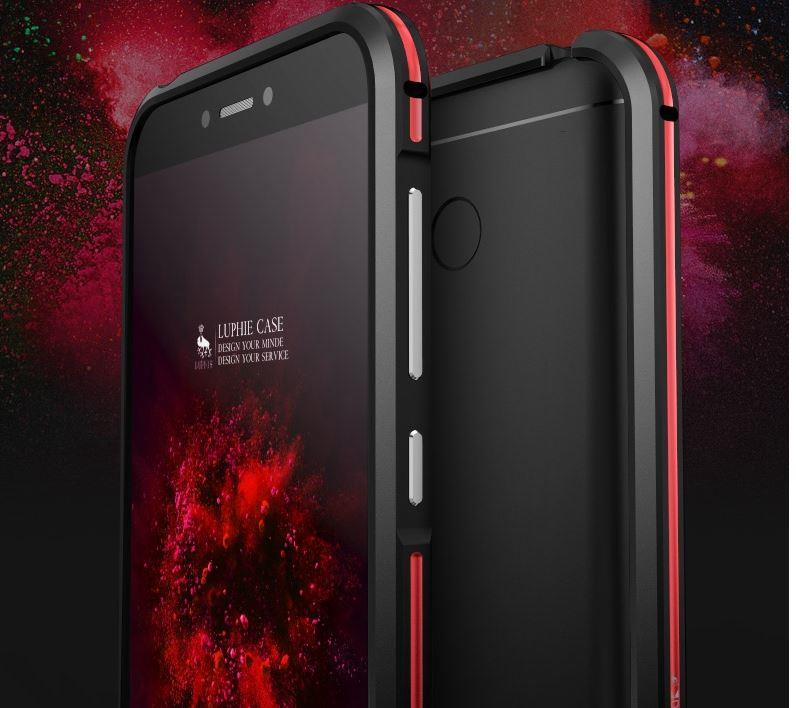 reputable site dfb42 512a9 Xiaomi Xiao Mi Redmi Red Mi 4X LUPHIE Metal Bumper Case Cover Casing