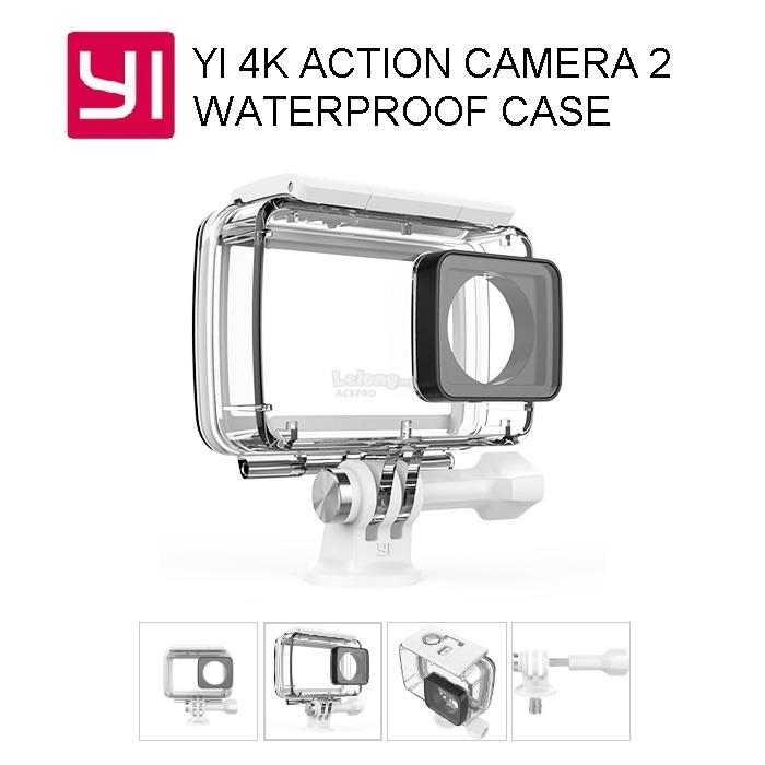 huge selection of 83f4e efe07 XIAOMI XiaoYi Yi 4K Action Sport Camera 2 Waterproof Case Casing