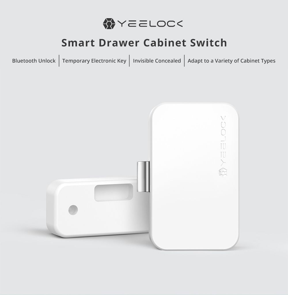 Xiaomi Yeelock Smart Drawer Lock Bluetooth Electronic Key App Control