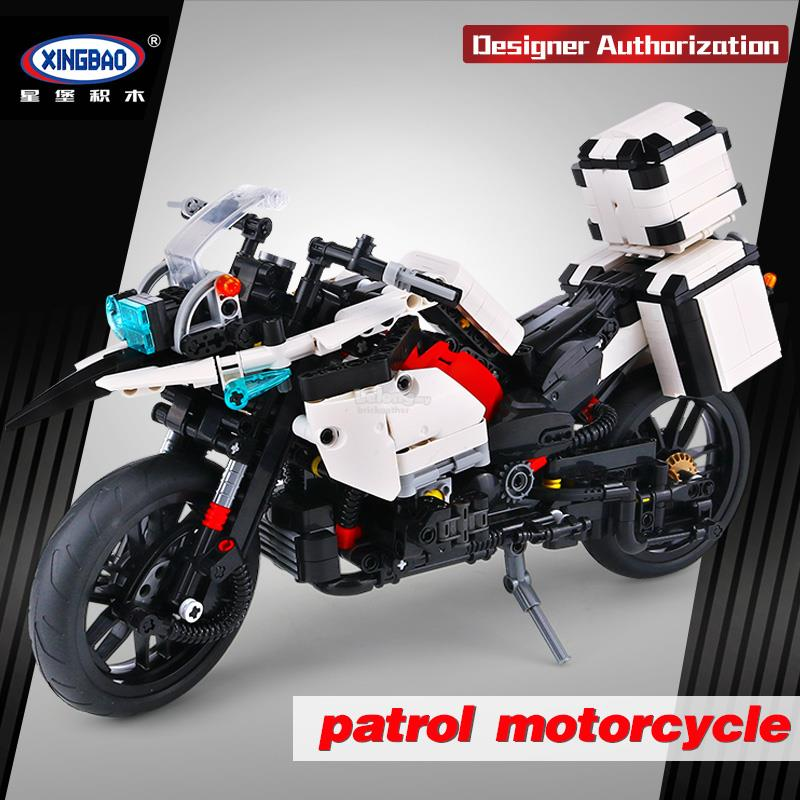 XINGBAO The Patrol Police Motorcycle XB03019