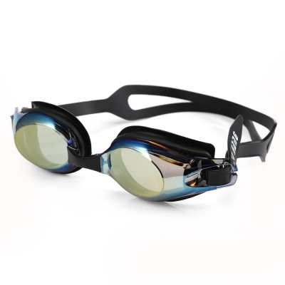 13036316d706 XinHang XH7610 Swimming Goggles with Anti Fog UV Protection (BLACK)