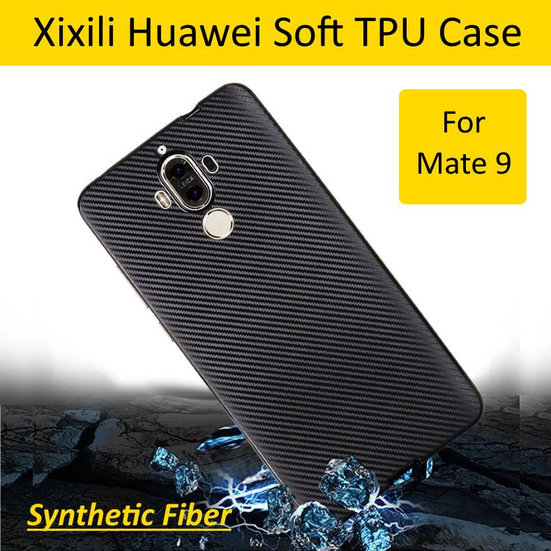 Xixili Huawei Mate 9 Synthetic Fiber Texture Soft TPU Case