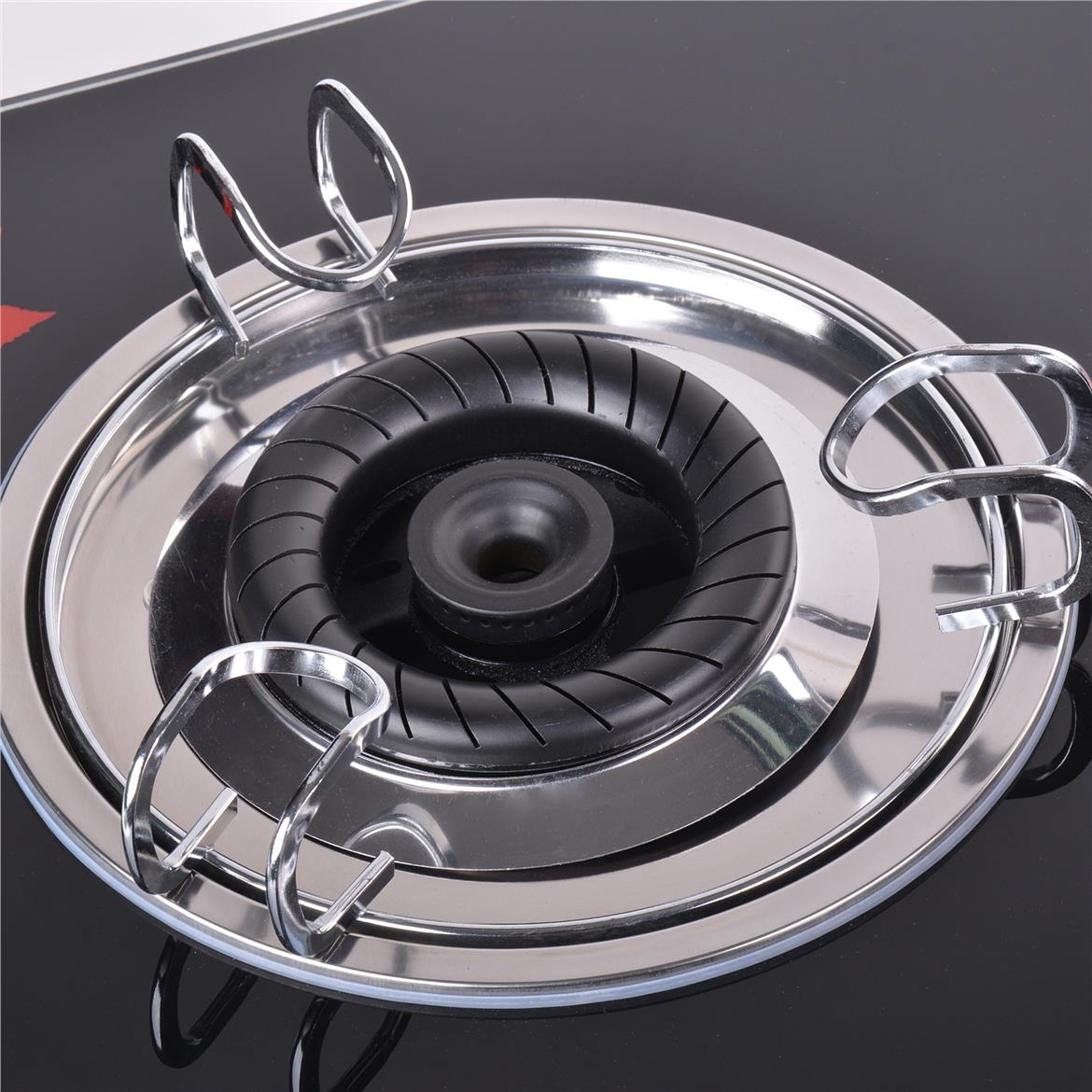 XMA 828 Double Burners Table Top Glass Hob
