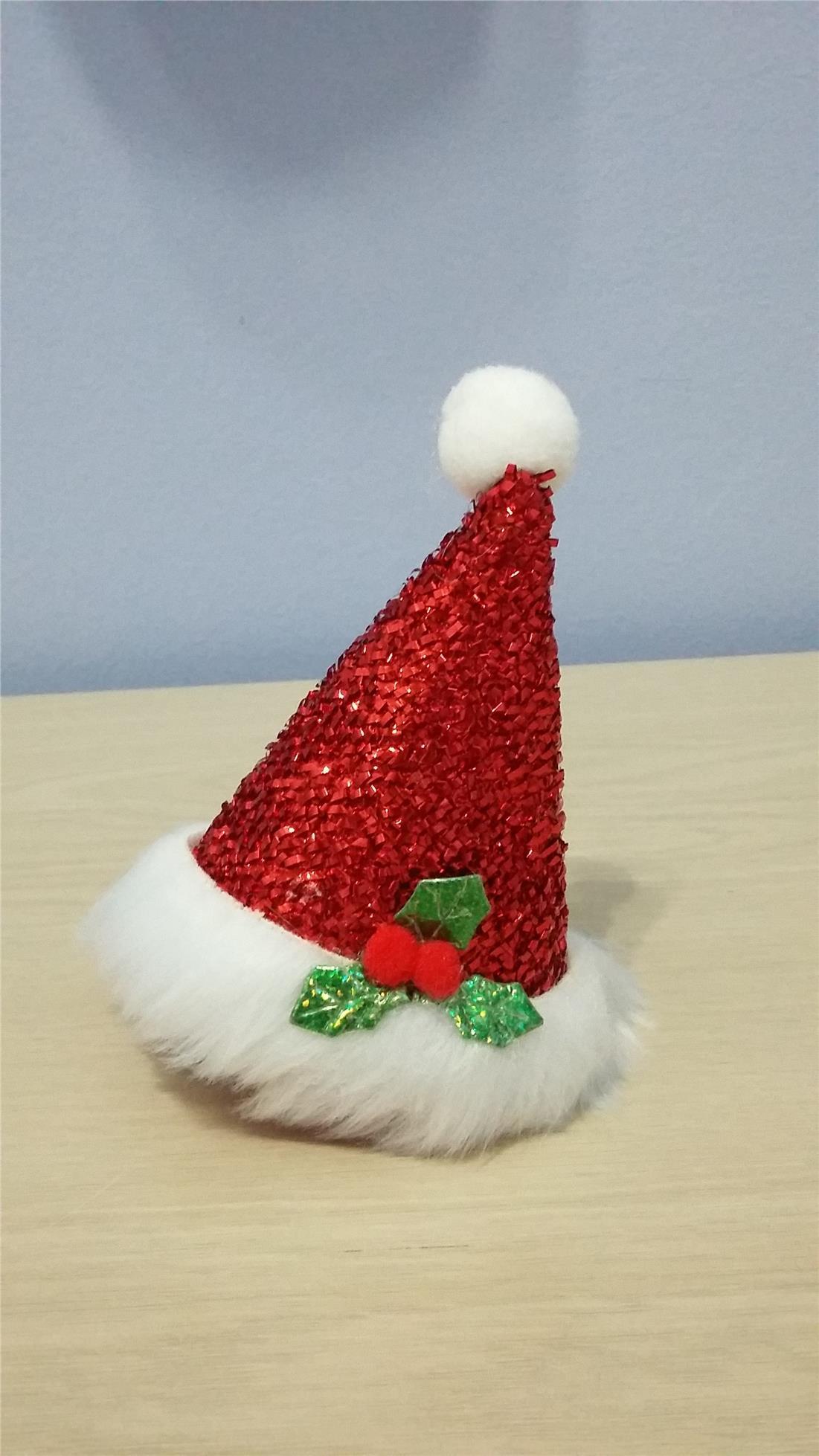 Xmas Mini Santa Hat Hair Clip End 11302019 215 Am