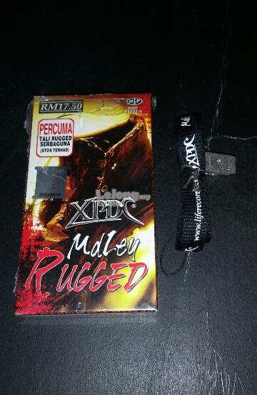 XPDC - MDLEY RUGGED CASSETTE KASET + TALI RUGGED