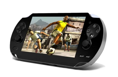 XPG PSP DESIGN 4GB MP5 HANHELD GAME CONSOLE VIDEO GAMES PLAYER (BLACK)