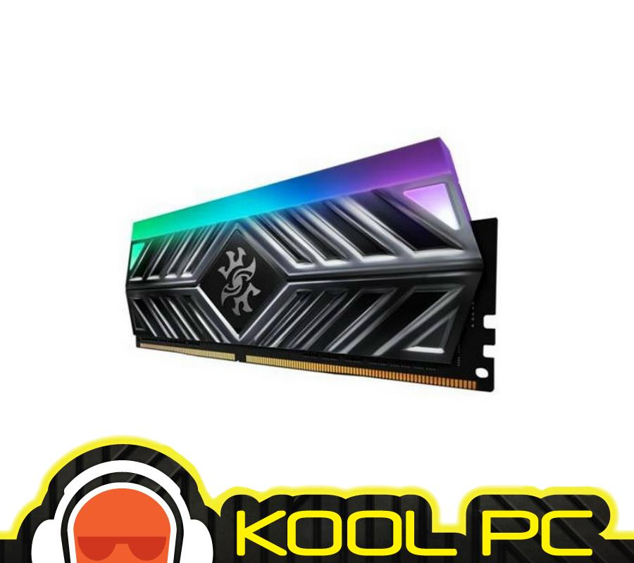 * XPG Spectrix D41 RGB 8GB 3200MHZ DDR4 RAM (GREY HEATSINK)