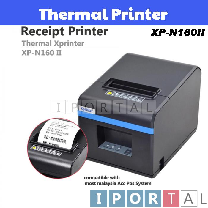 Xprinter XP-N160II Thermal Printer for Retail Restaurant POS System