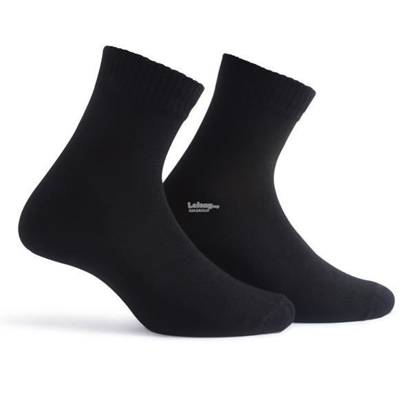 XSEN PURE BLACK LONG SOCKS XSK71902