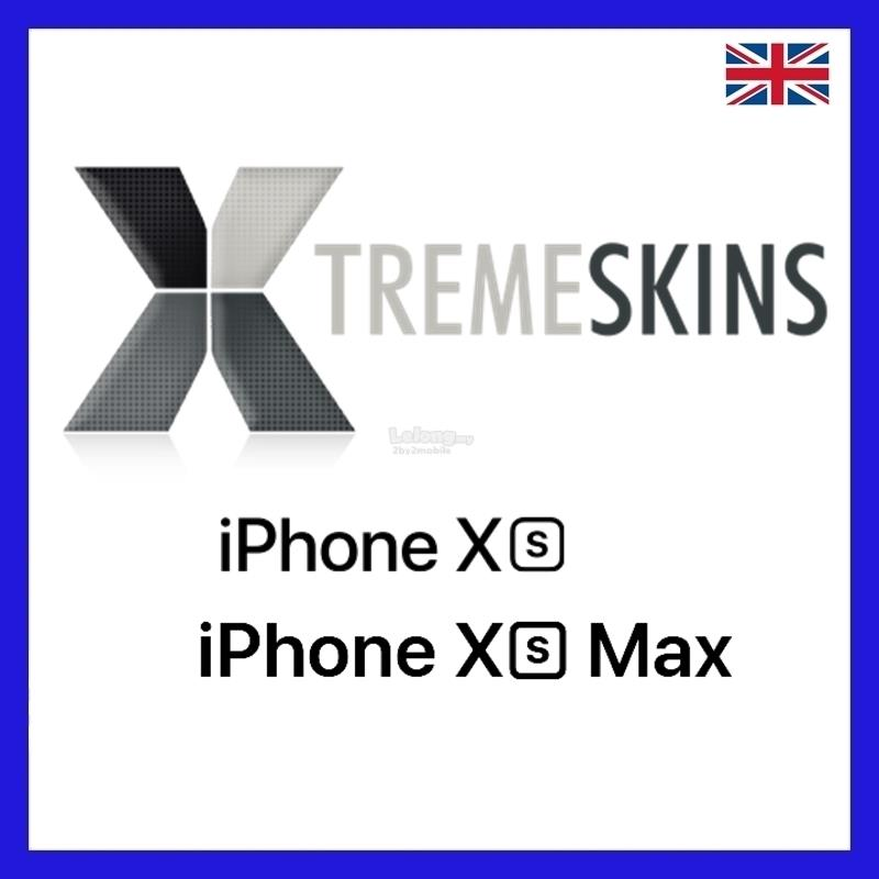 Xtremeskins iPhone XS / XS MAX skin back skin from UK