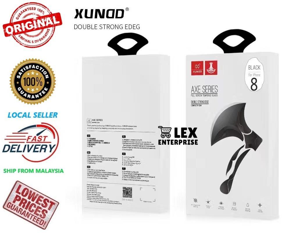 XUNDD Original IPhone 7/8/7+/8+/IPhone X TemperedGlass ScreenProtector
