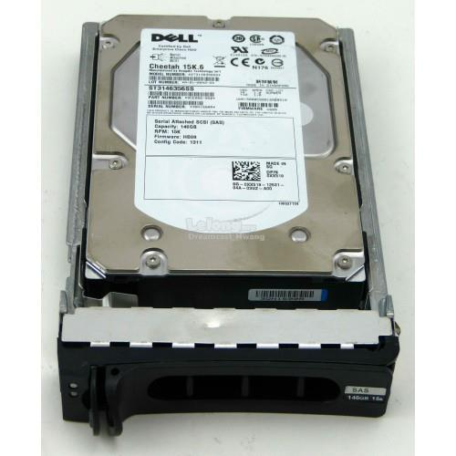 XX518 HARD DRIVE, 146G, SERIAL ATTACHED SCSI, DU, 15K, 3.5, SEAGATE, H