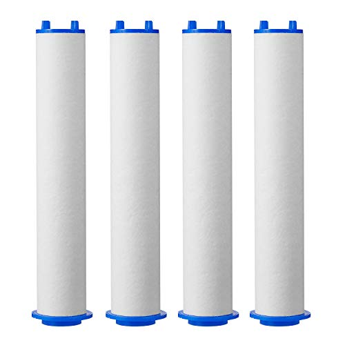 ~ XYCING Shower Filter for Ionic Shower Head, 4pcs PP Cotton Filters Cartridge
